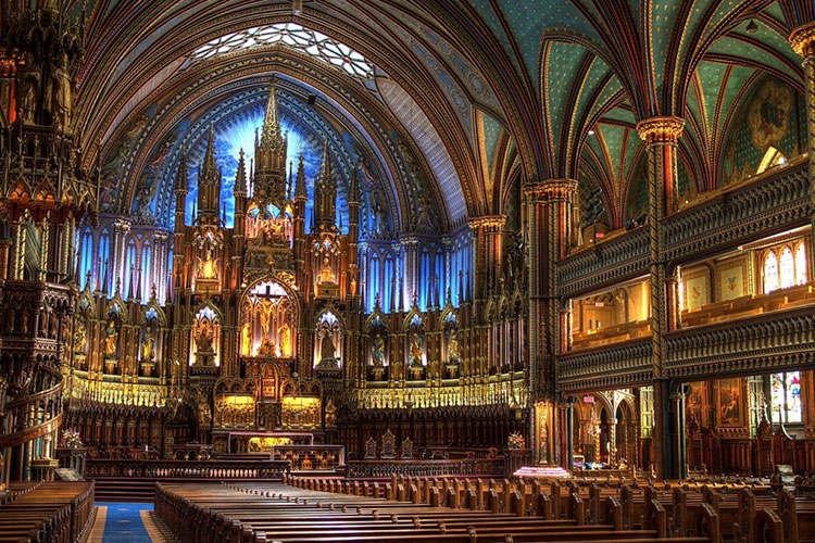 thanh duong Notre Dame Basilica
