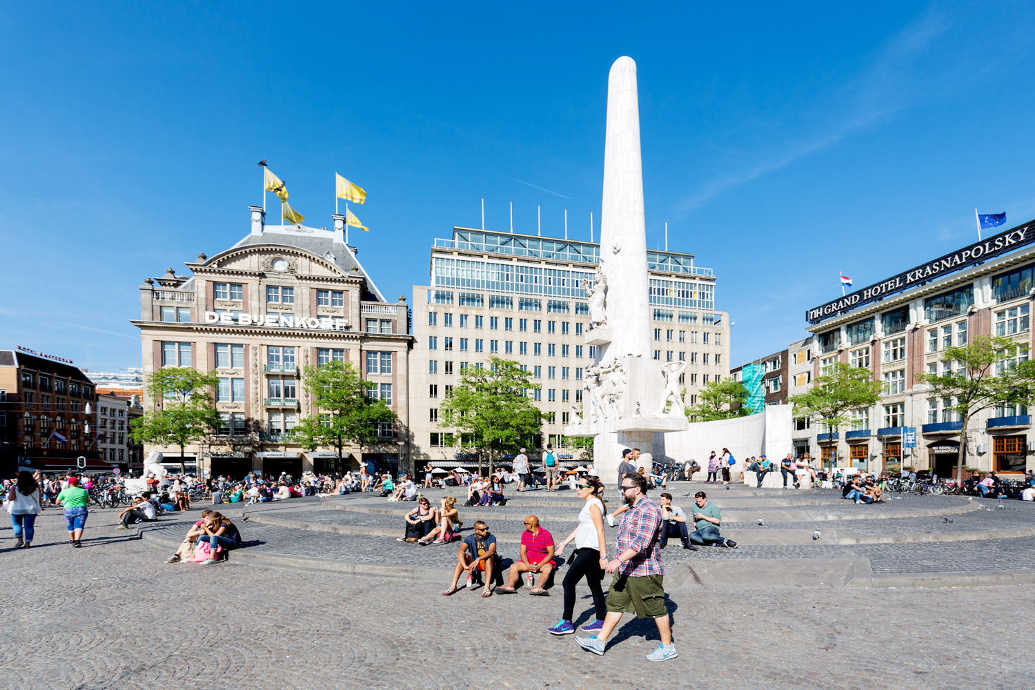 National Monument on Dam Square 529841536